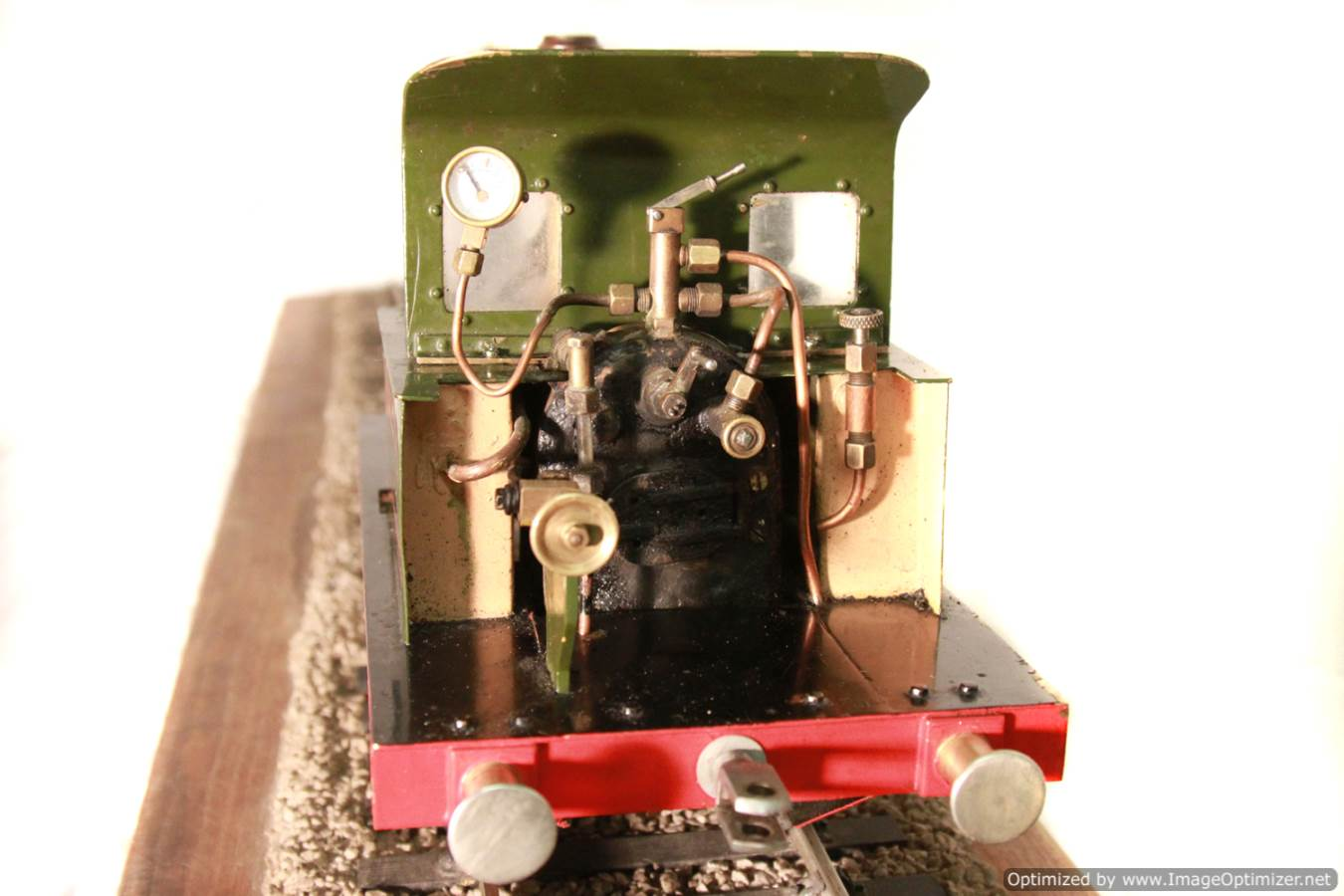 test Tich Live Steam locomotive For sale 17 Optimized