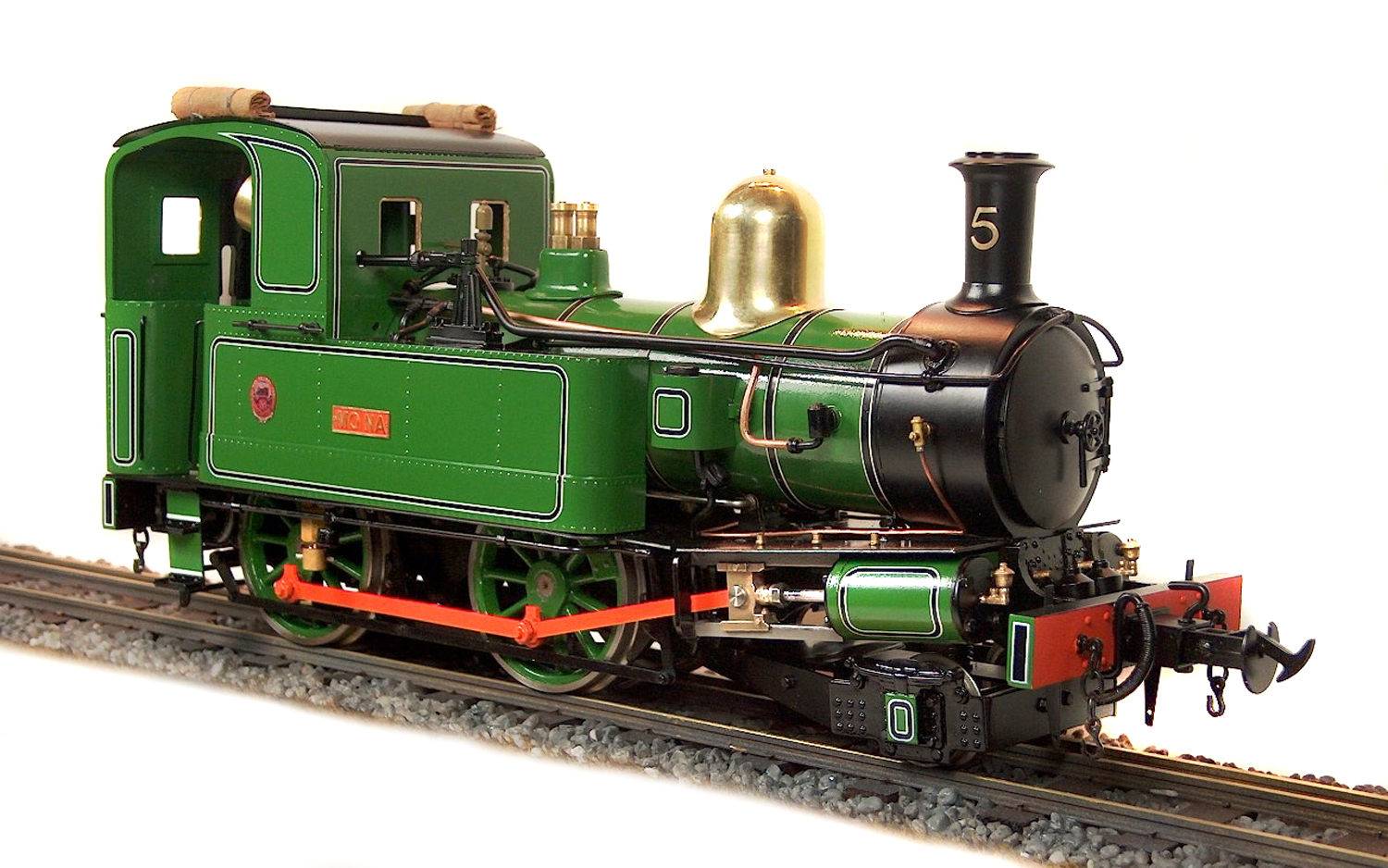 test Accucraft Mona Live Steam Locomotive for sale 01