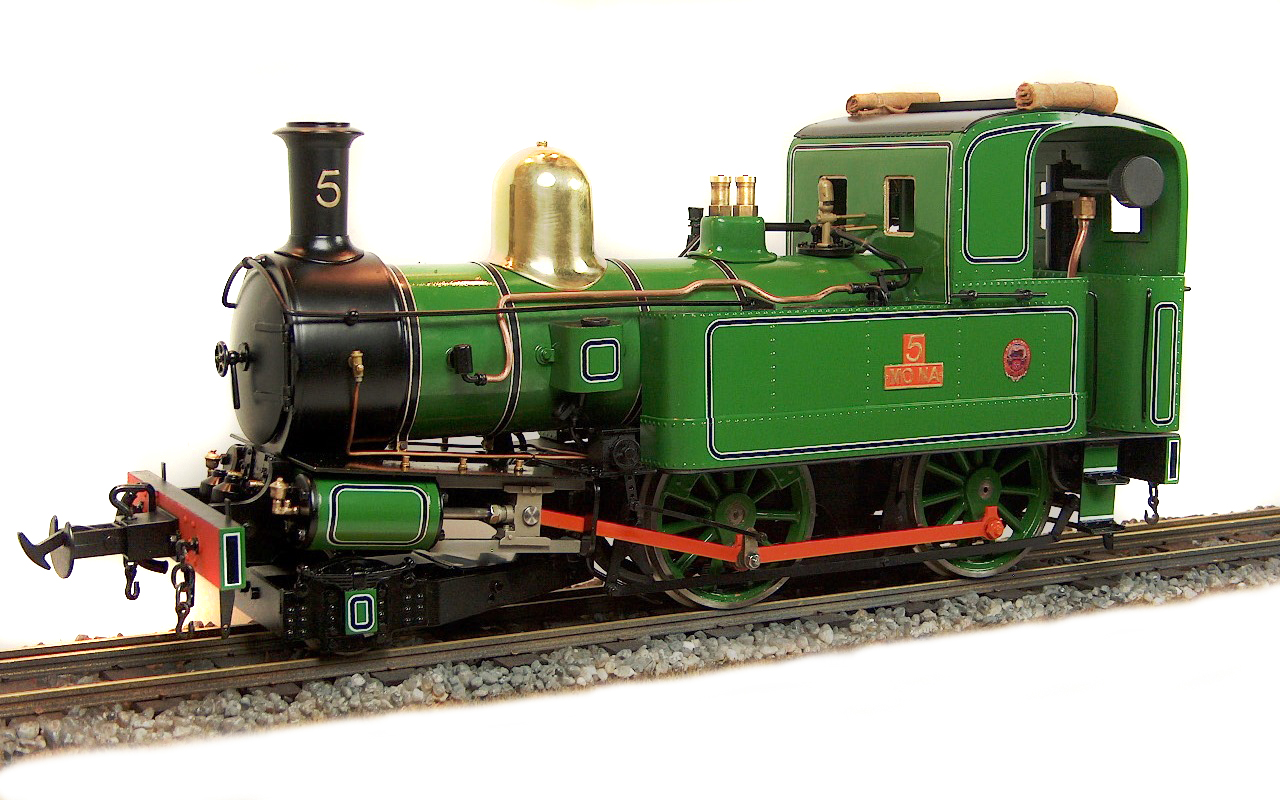 test Accucraft Mona Live Steam Locomotive for sale 04