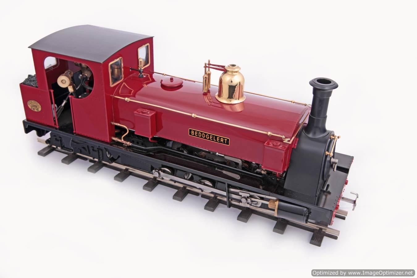 test Beddgelert 0-6-4ST Hunslet Locomotive Company Roundhouse 04 Optimized