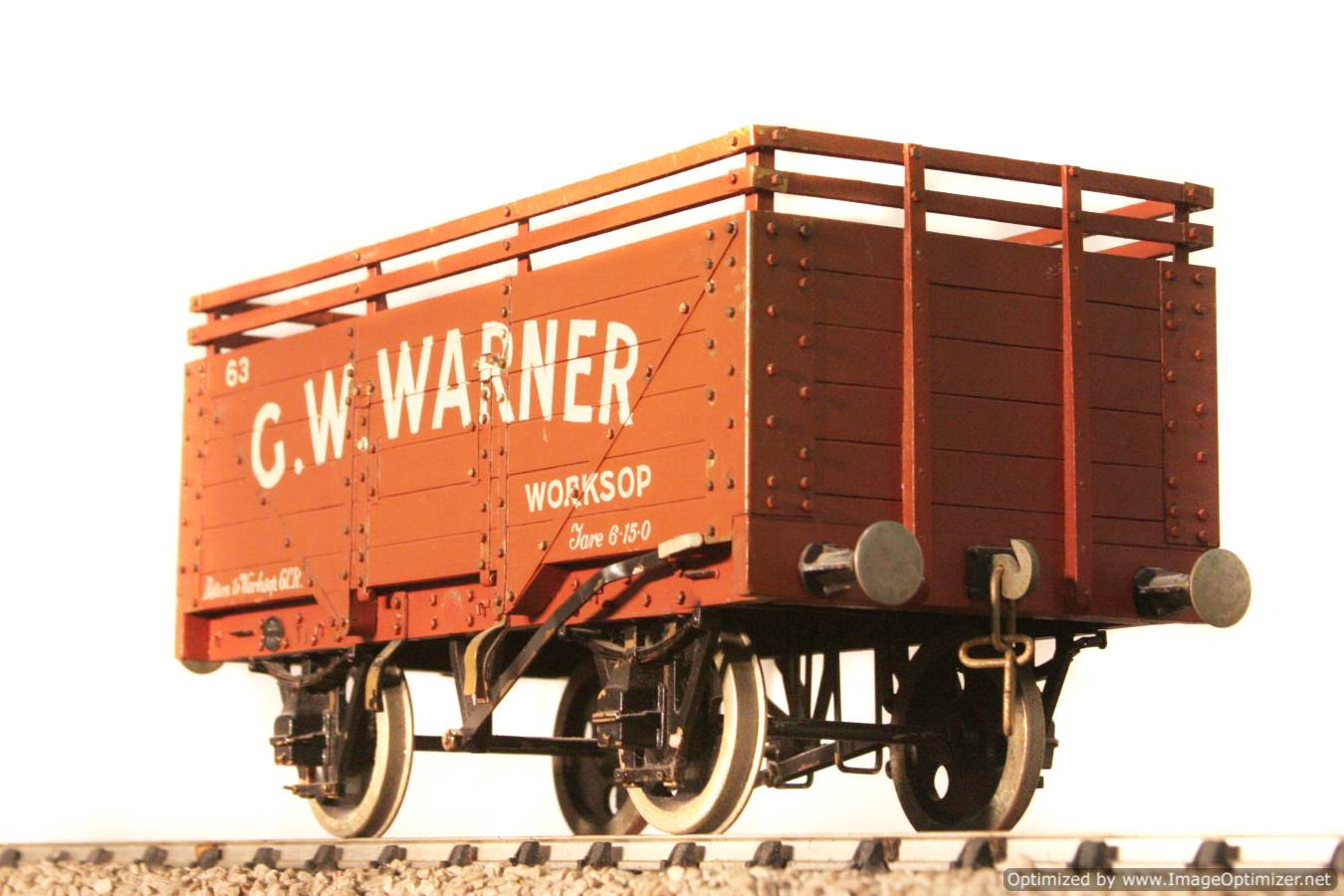 test CW Warner live steam wagon for sale 01 Optimized