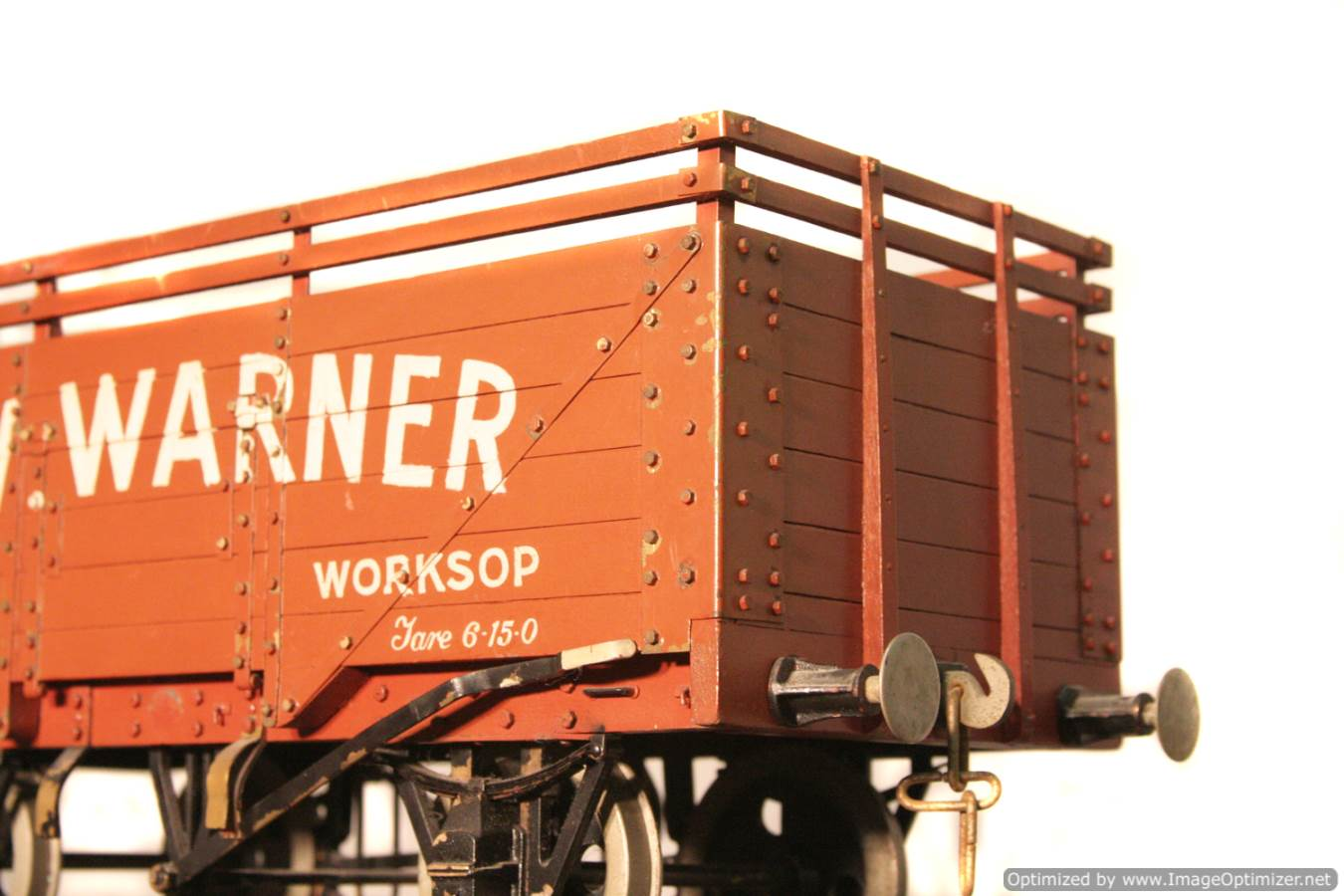 test CW Warner live steam wagon for sale 04 Optimized