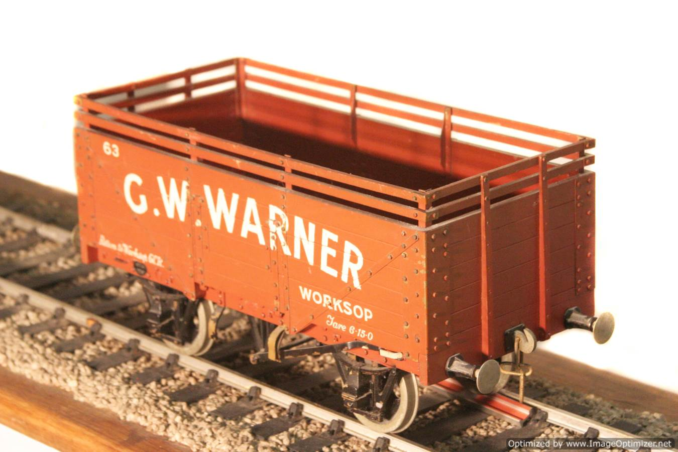 test CW Warner live steam wagon for sale 05 Optimized