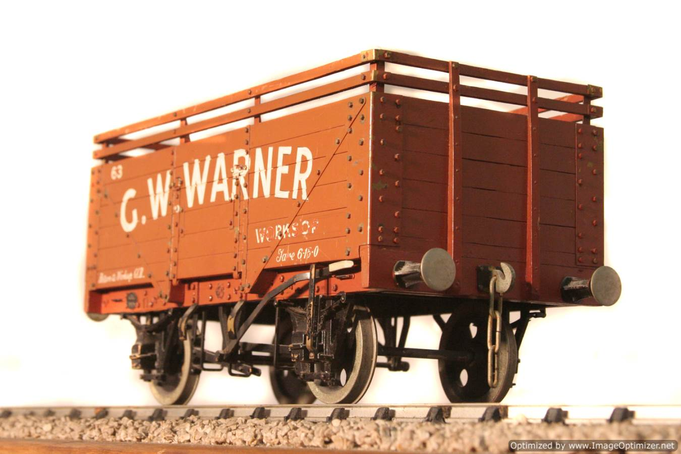 test CW Warner live steam wagon for sale 09 Optimized
