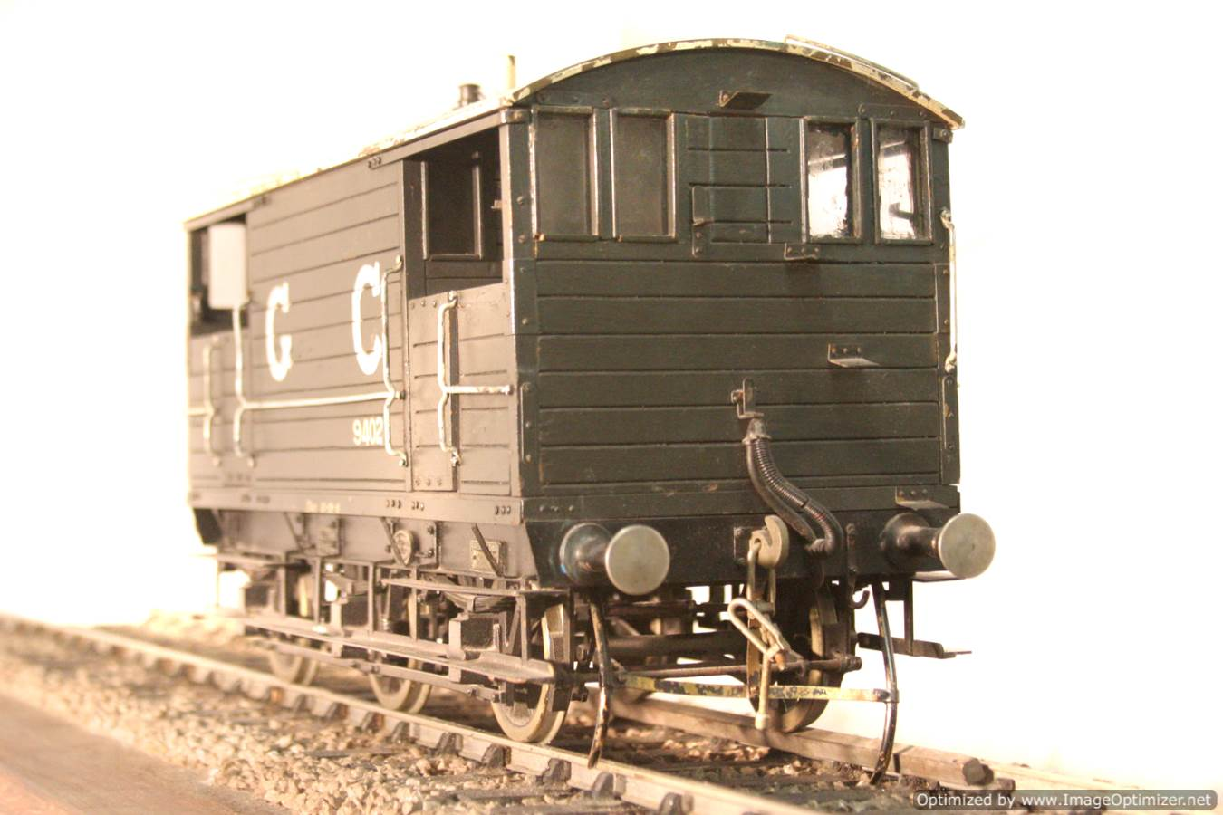 test Great Central Railway Guards Van live steam model for sale 08 Optimized