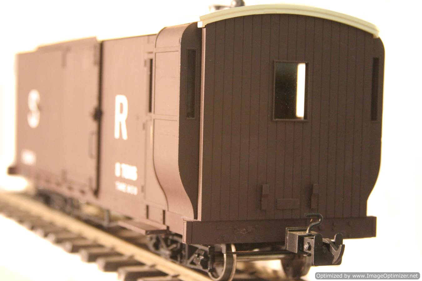 test L & B Bogie Goods Live Steam Brake Van for sale 10 Optimized