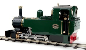 Lady Anne live steam locomotive garden rail for sale 02