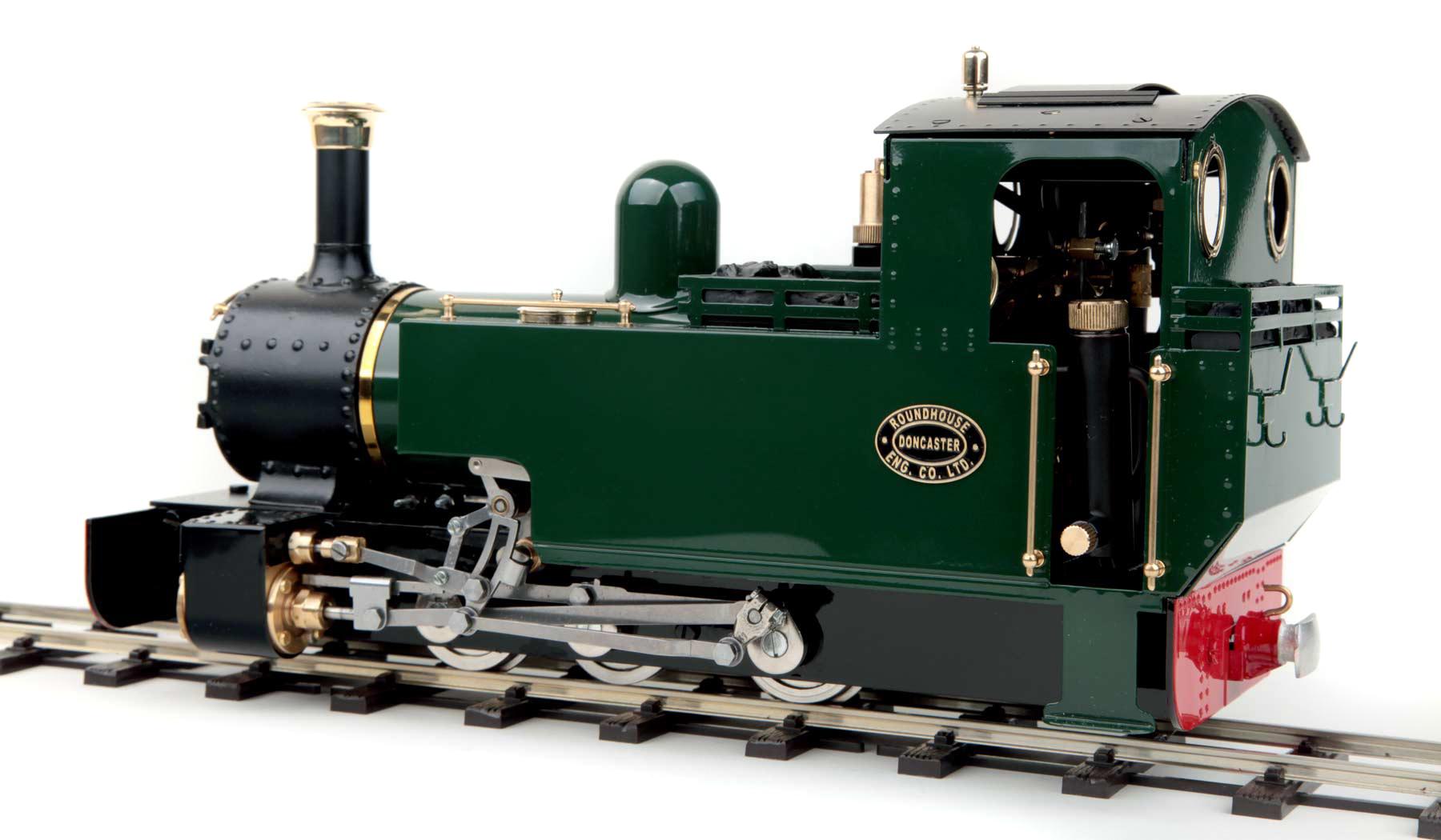 test Lady Anne live steam locomotive garden rail for sale 02
