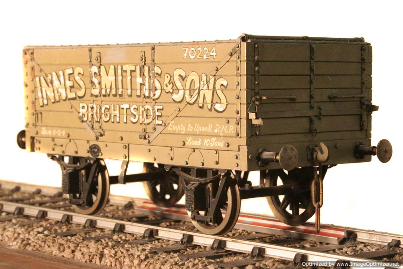 test Live steam coal wagon for sale 01 Optimized