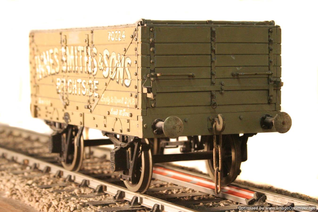 test Live steam coal wagon for sale 02 Optimized