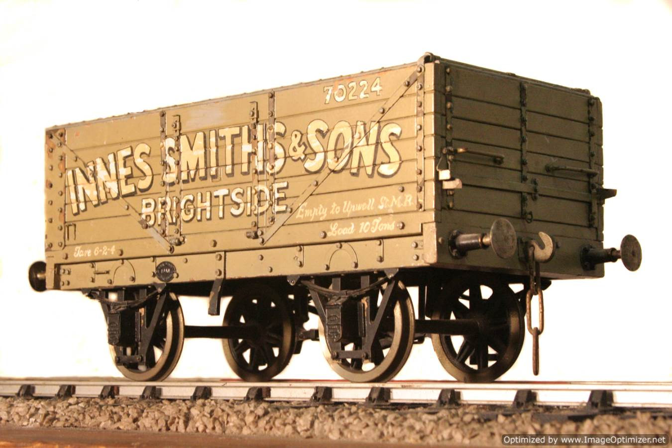 test Live steam coal wagon for sale 03 Optimized