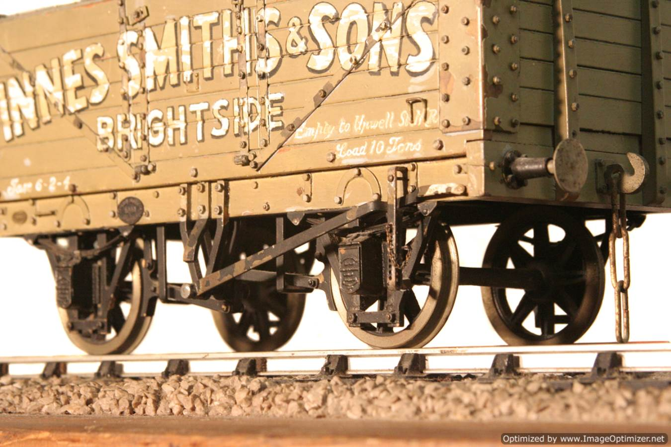 test Live steam coal wagon for sale 10 Optimized