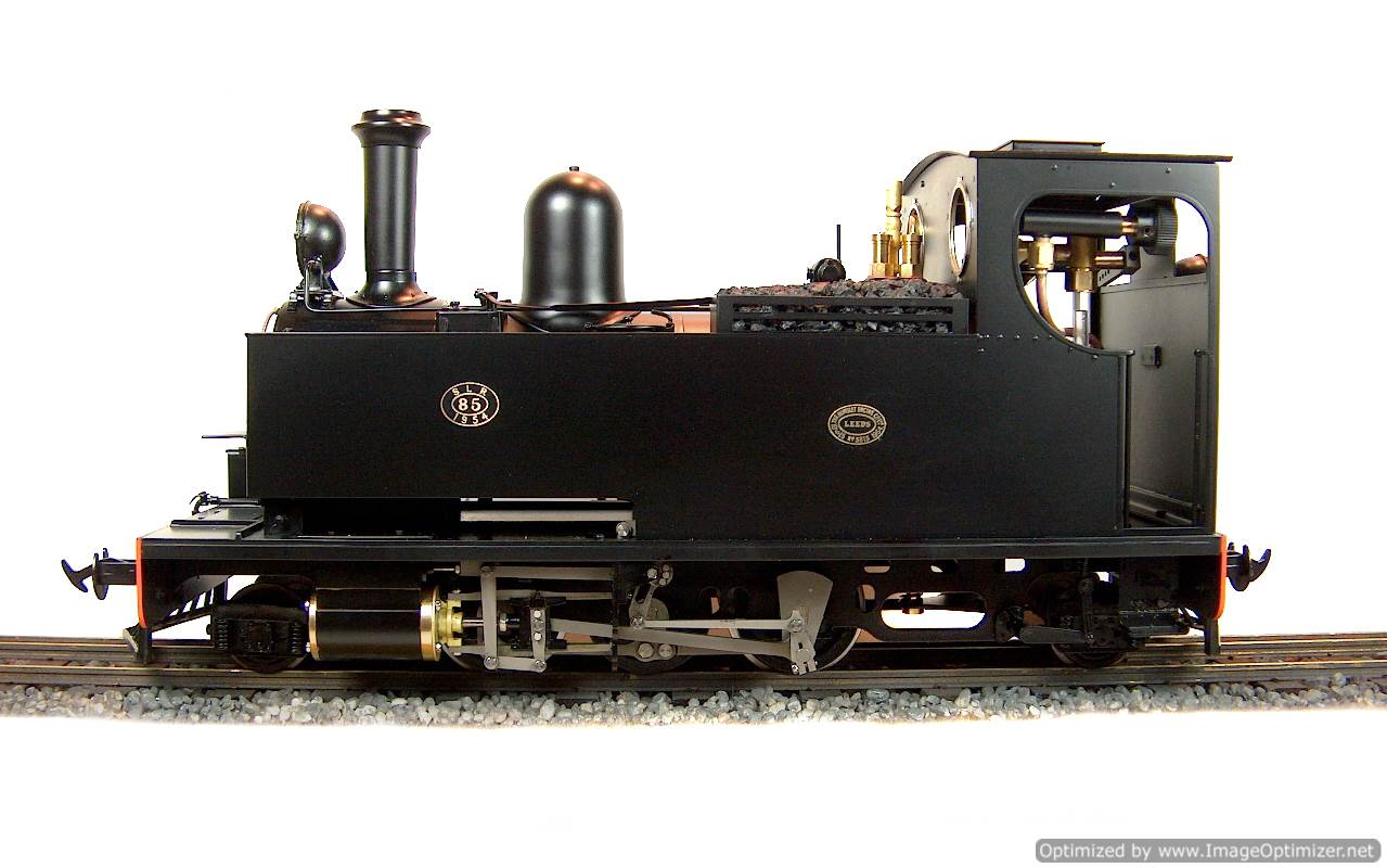 test No.14 W & L 2-6-2 T live steam locomotive for sale 02 Optimized