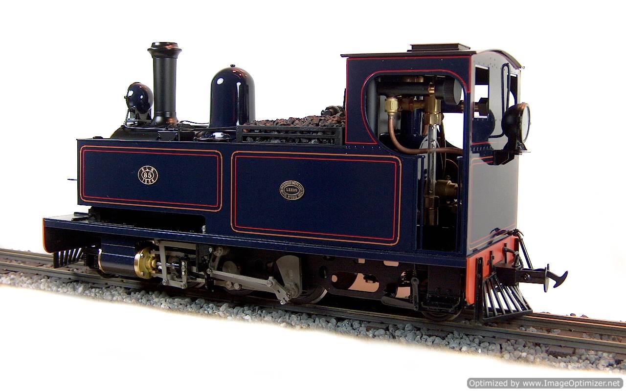 test No.14 W & L 2-6-2 T live steam locomotive for sale 08 Optimized