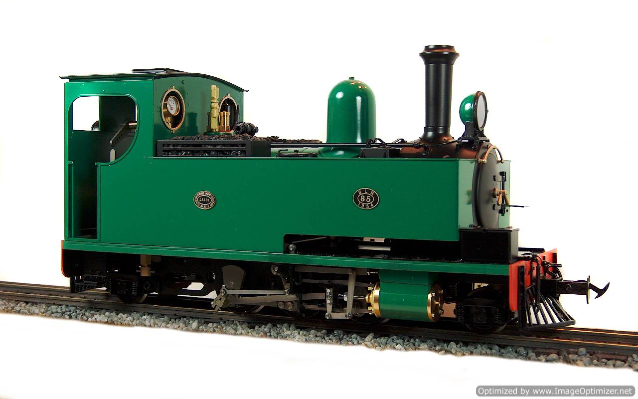 test No.14 W & L 2-6-2 T live steam locomotive for sale 10 Optimized