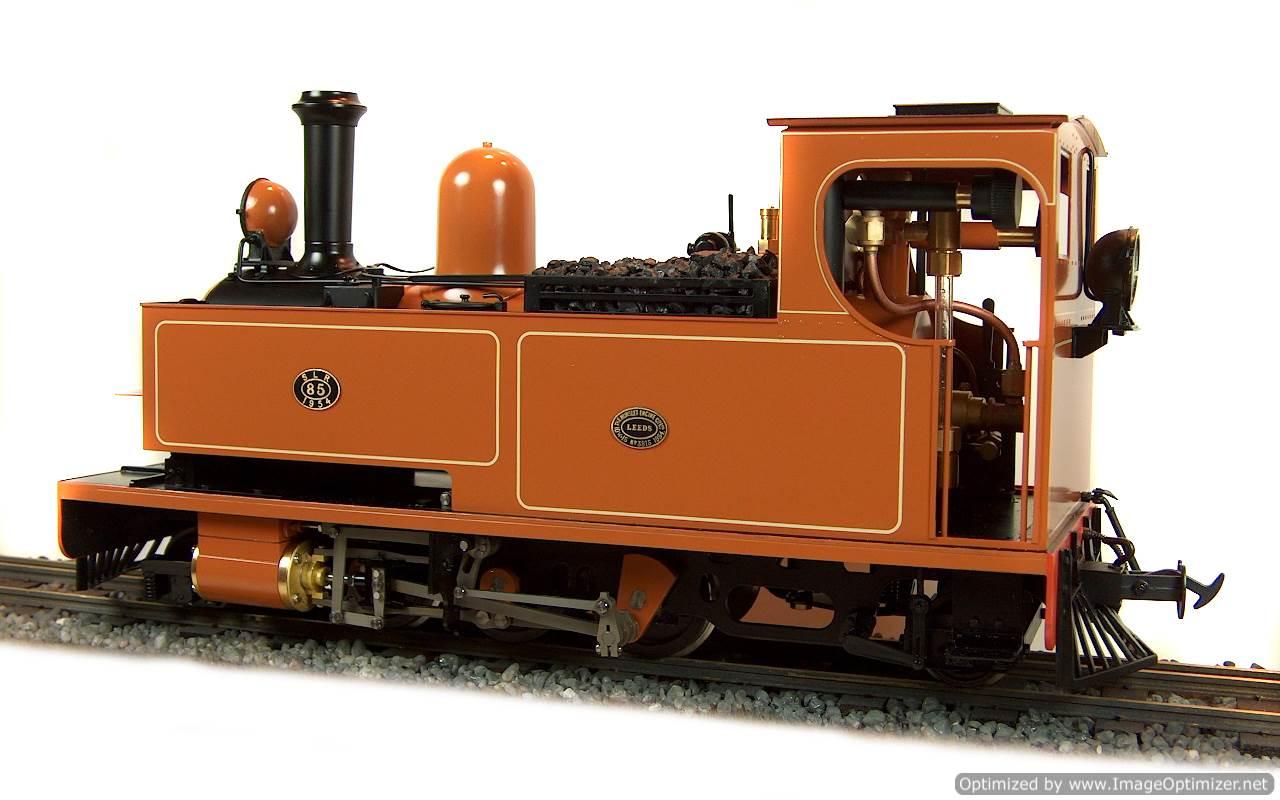 test No.14 W & L 2-6-2 T live steam locomotive for sale 14 Optimized