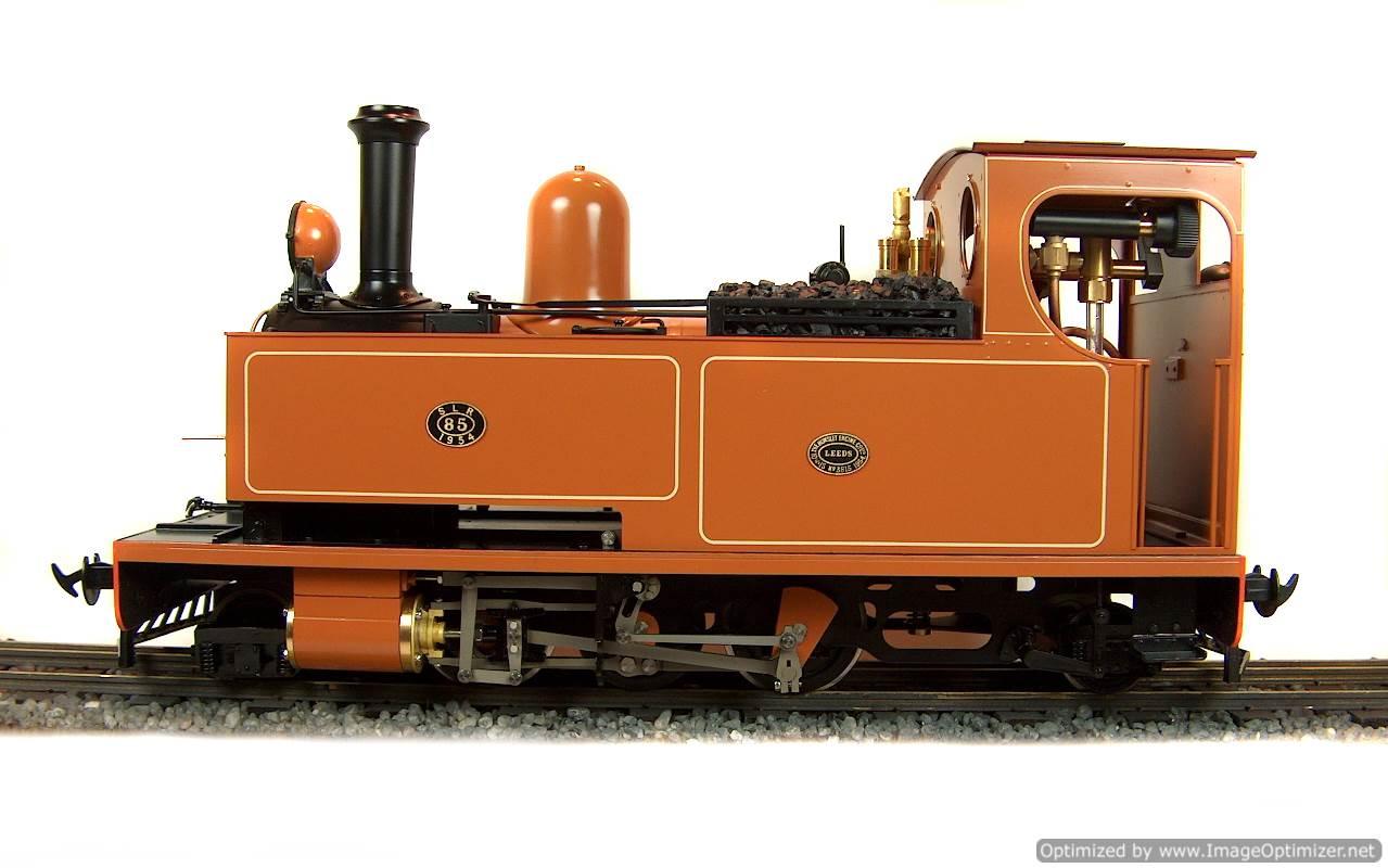 test No.14 W & L 2-6-2 T live steam locomotive for sale 15 Optimized