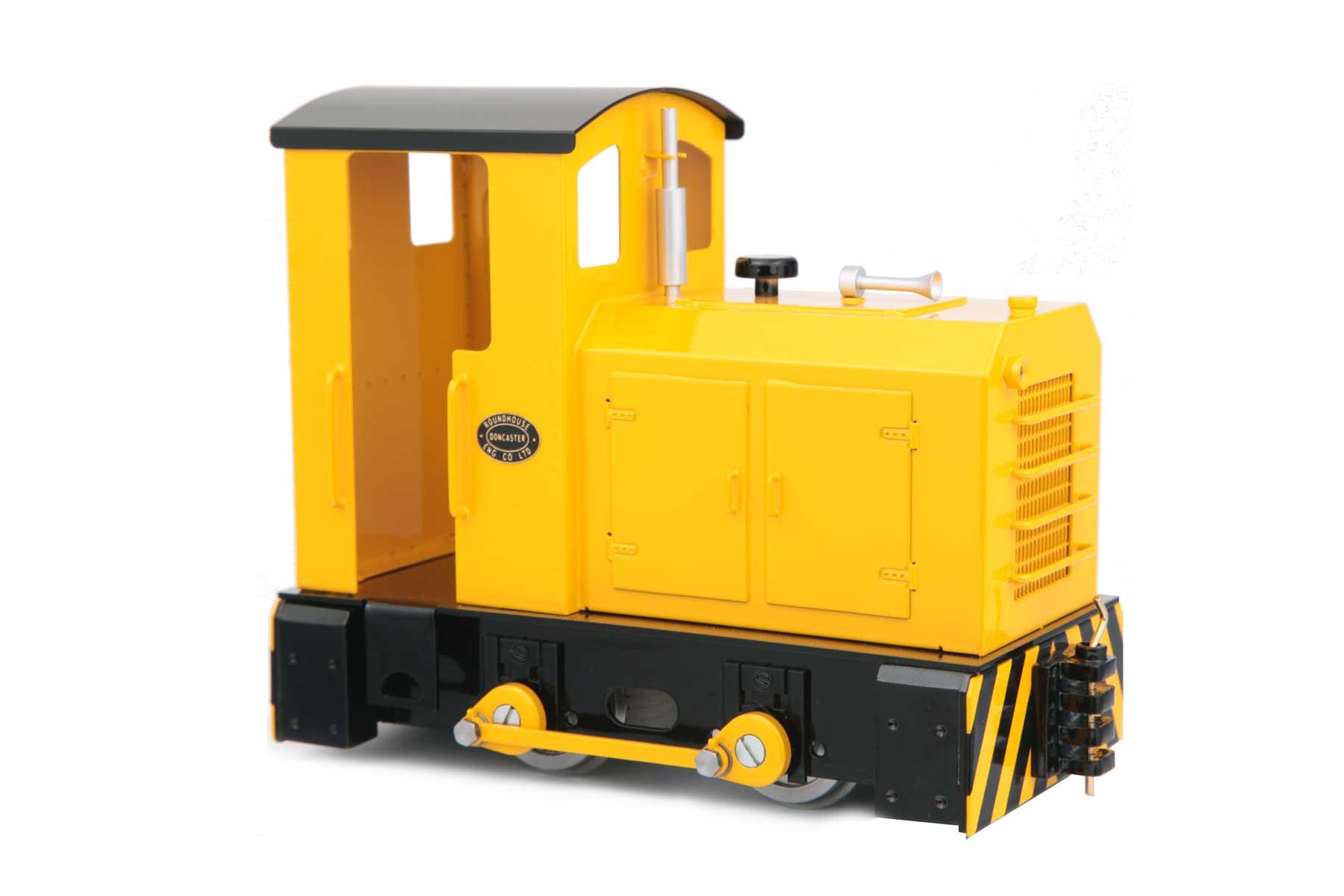 test bulldog Diesel locomotive for sale 03