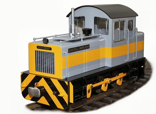 test harlech castle Ffestiniog Railway diesel locomotive for sale 01