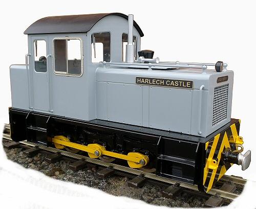 test harlech castle Ffestiniog Railway diesel locomotive for sale 02