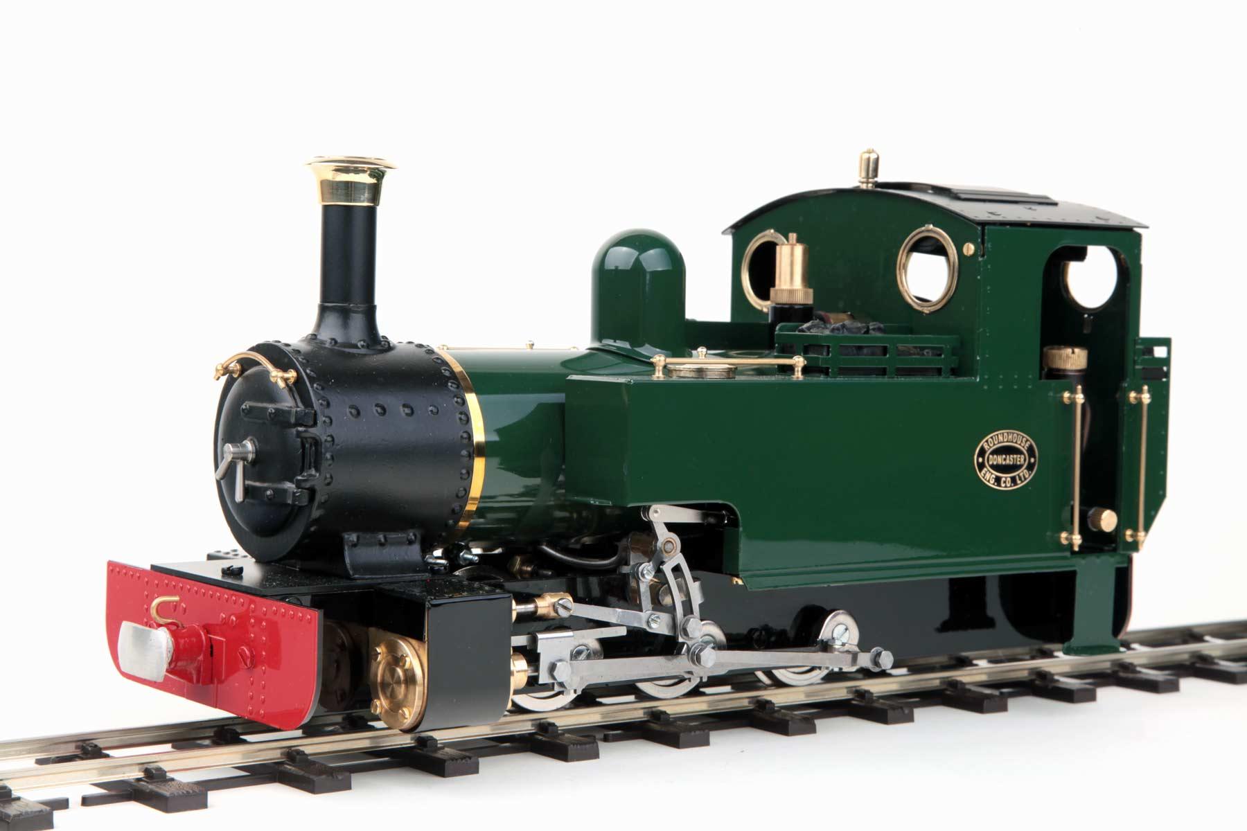 test lady anne live steam locomotive garden rail for sale 01