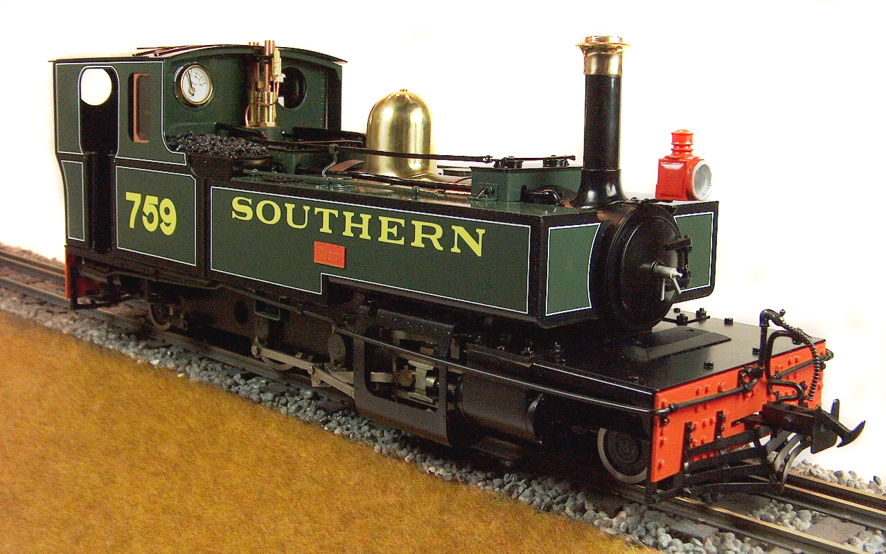 test lyn live steam locomotive for sale 06