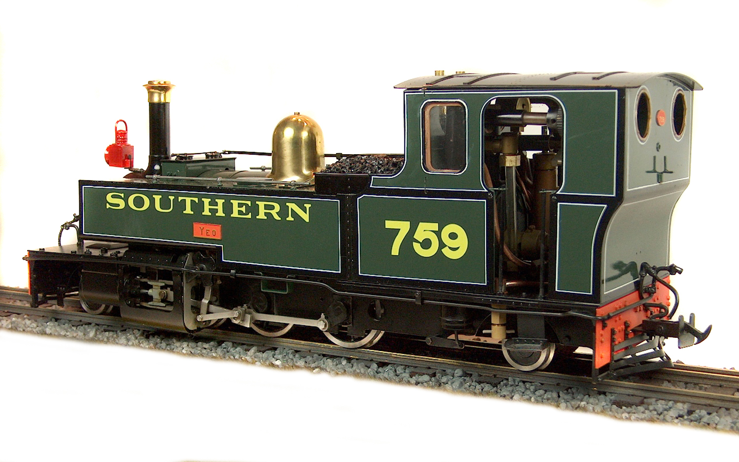 test lyn live steam locomotive for sale 07
