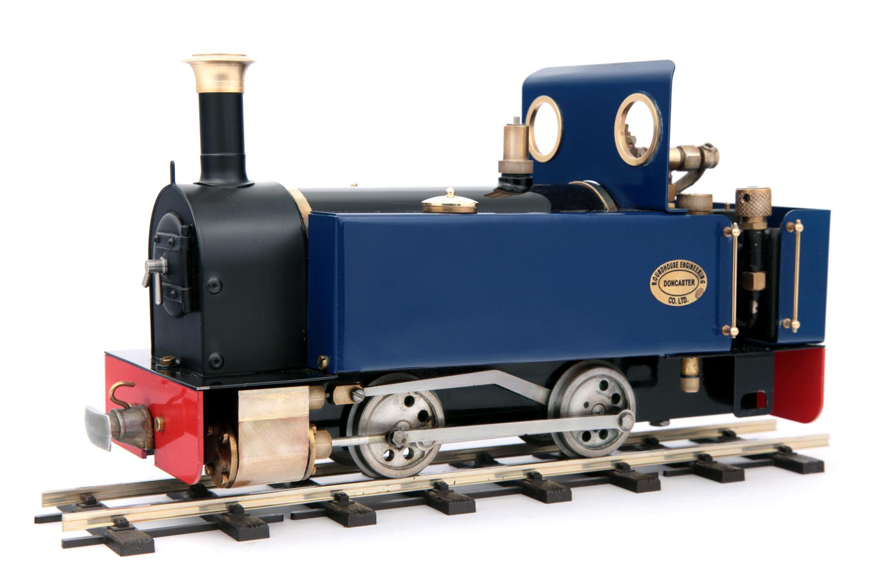 test millie live steam garden rail locomotive 02
