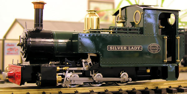test silver lady roundhouse live steam locomotive for sale 03