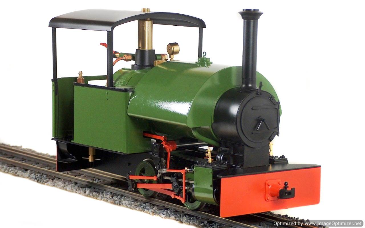 test Bagnall live steam garden rail locomotive for sale 01-Optimized