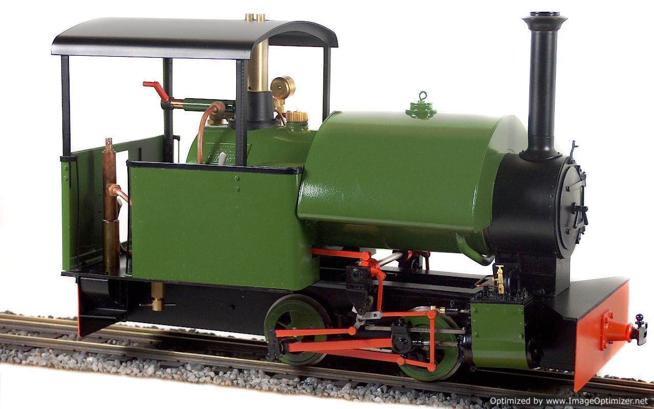 test Bagnall live steam garden rail locomotive for sale 02-Optimized