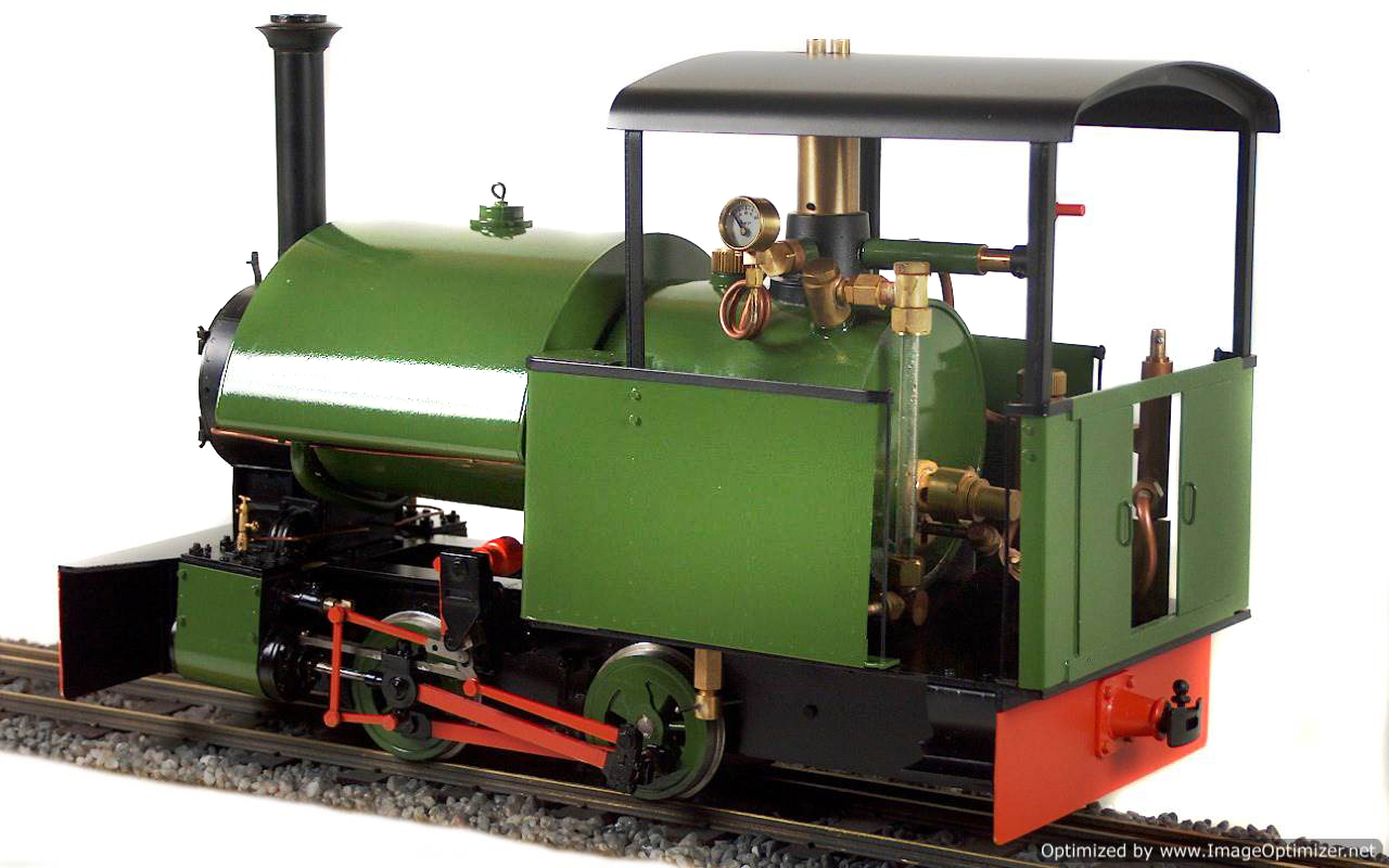 test Bagnall live steam garden rail locomotive for sale 03-Optimized