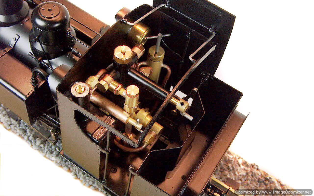 test Baldwin live steam garden rail locomotive for sale 01-Optimized