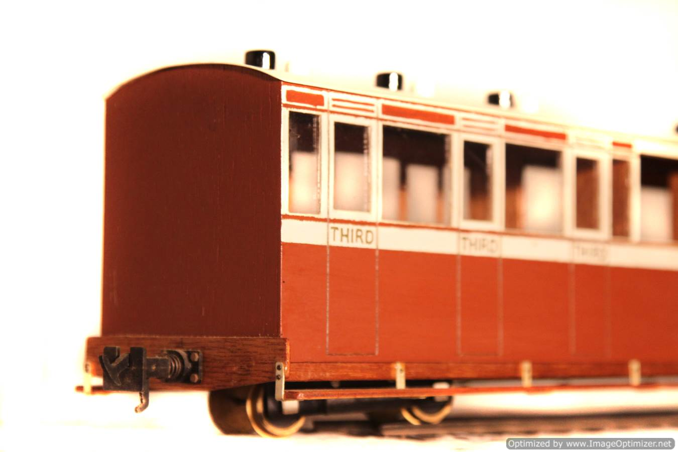 test L&B 32mm Garden Rail live steam locomotive carriages for sale 10 Optimized
