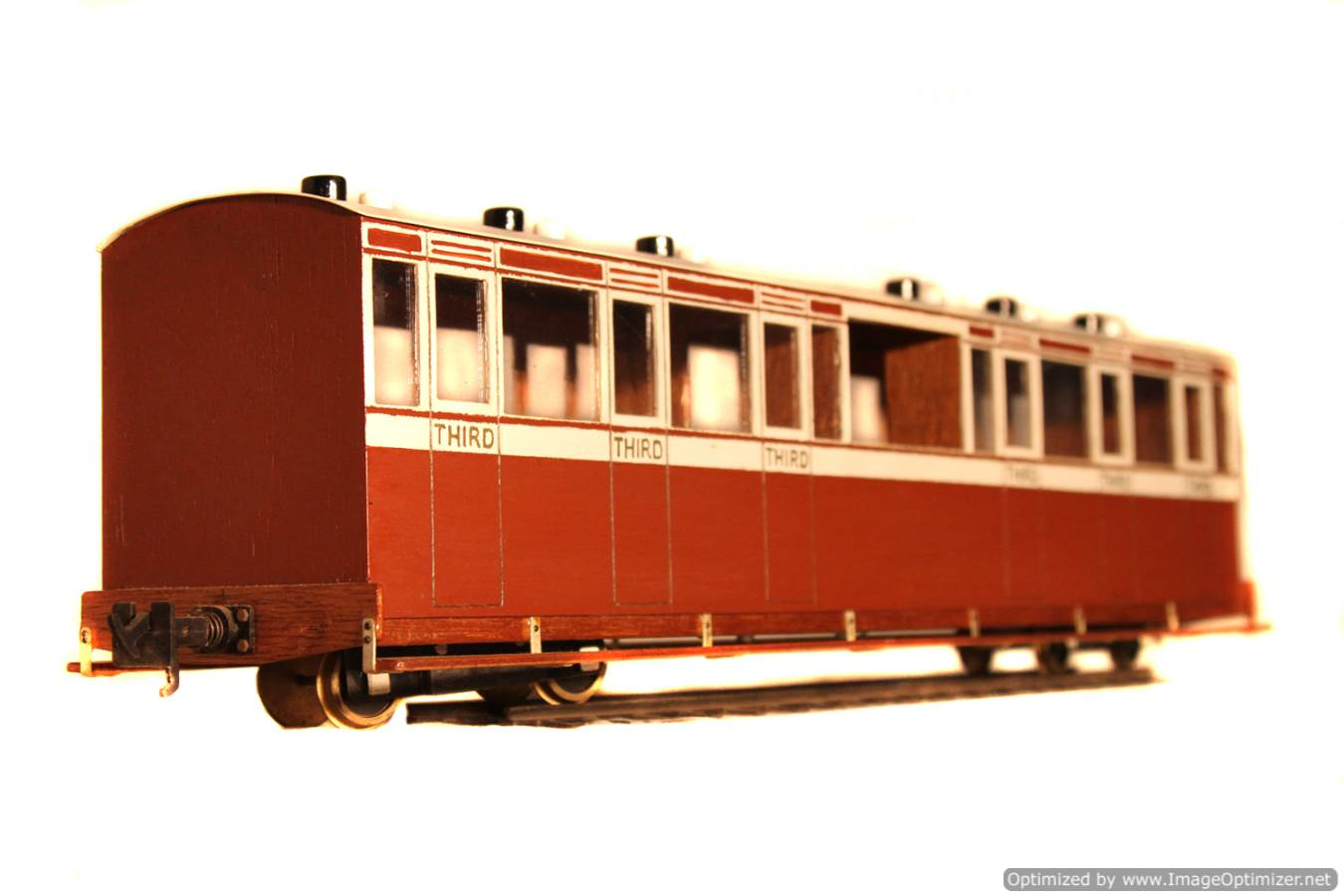 test L&B 32mm Garden Rail live steam locomotive carriages for sale 11 Optimized