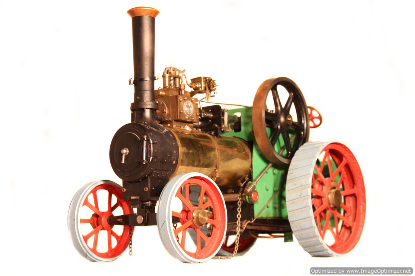 test Minnie live steam traction engine for sale 01 Optimized