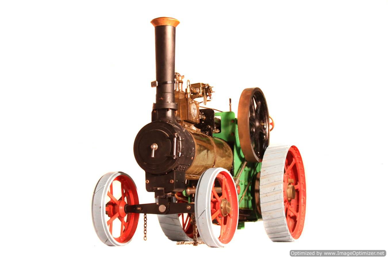 test Minnie live steam traction engine for sale 02 Optimized