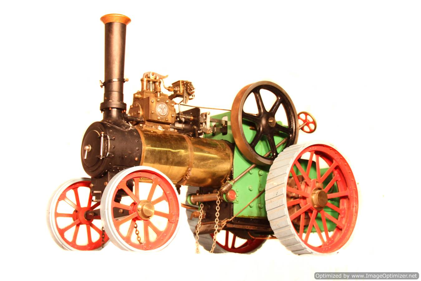 test Minnie live steam traction engine for sale 03 Optimized