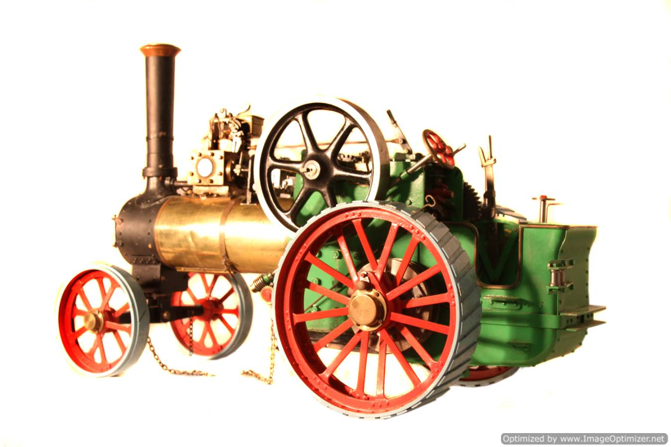 test Minnie live steam traction engine for sale 04 Optimized