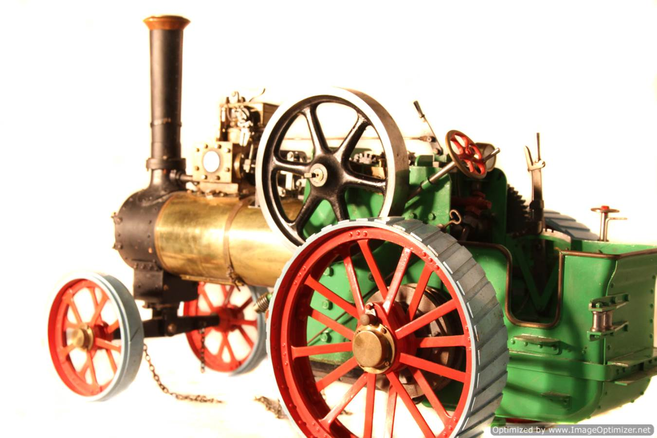 test Minnie live steam traction engine for sale 05 Optimized
