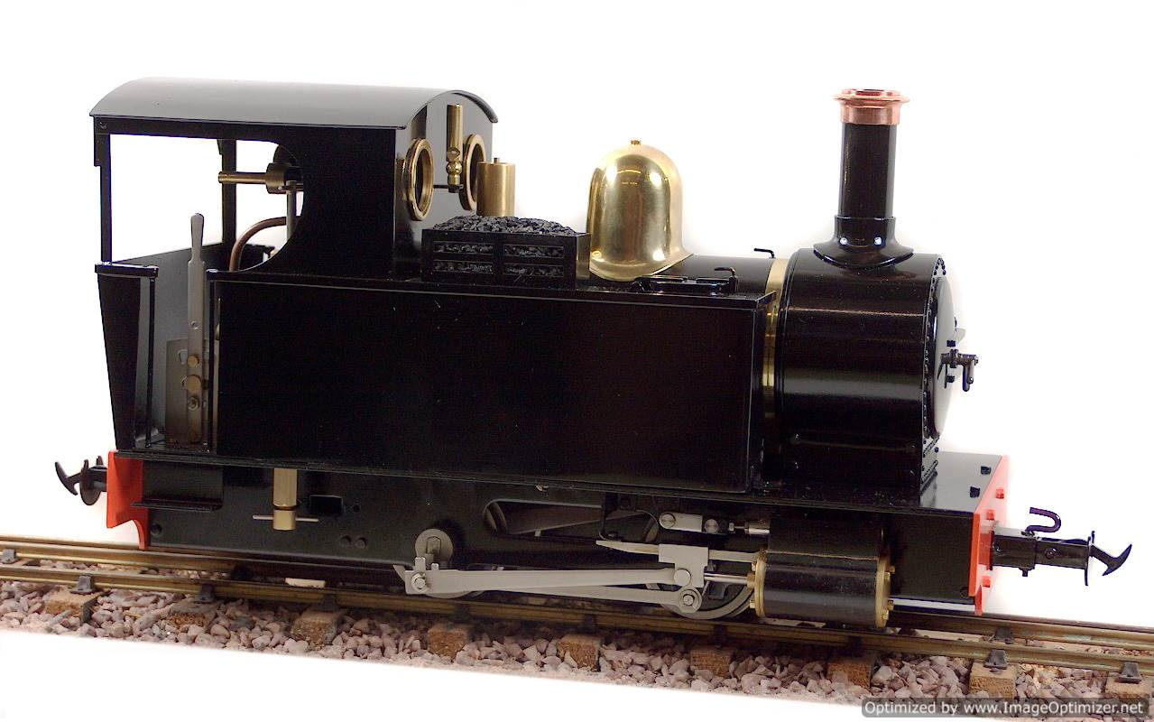 test Ragleth LiveSteam Garden Rail locomotive for sale 03-Optimized