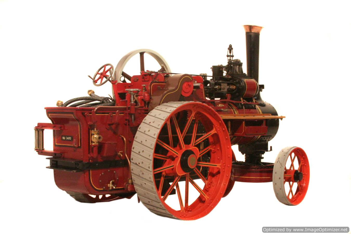 test Royal Chester Alchin Traction Engine for sale 01 -Optimized
