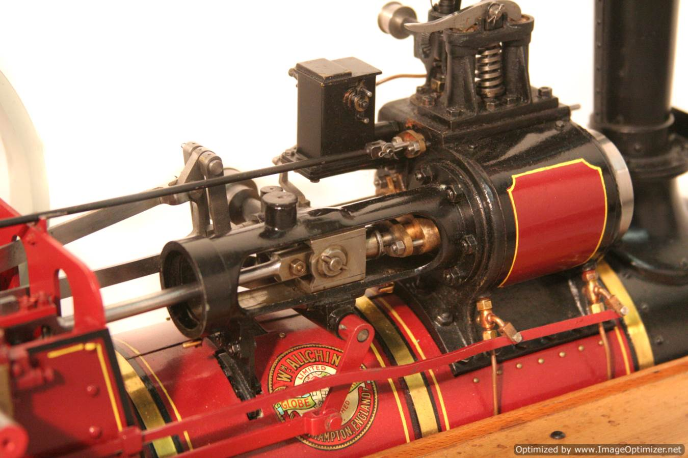 test Royal Chester Alchin Traction Engine for sale 03 Optimized