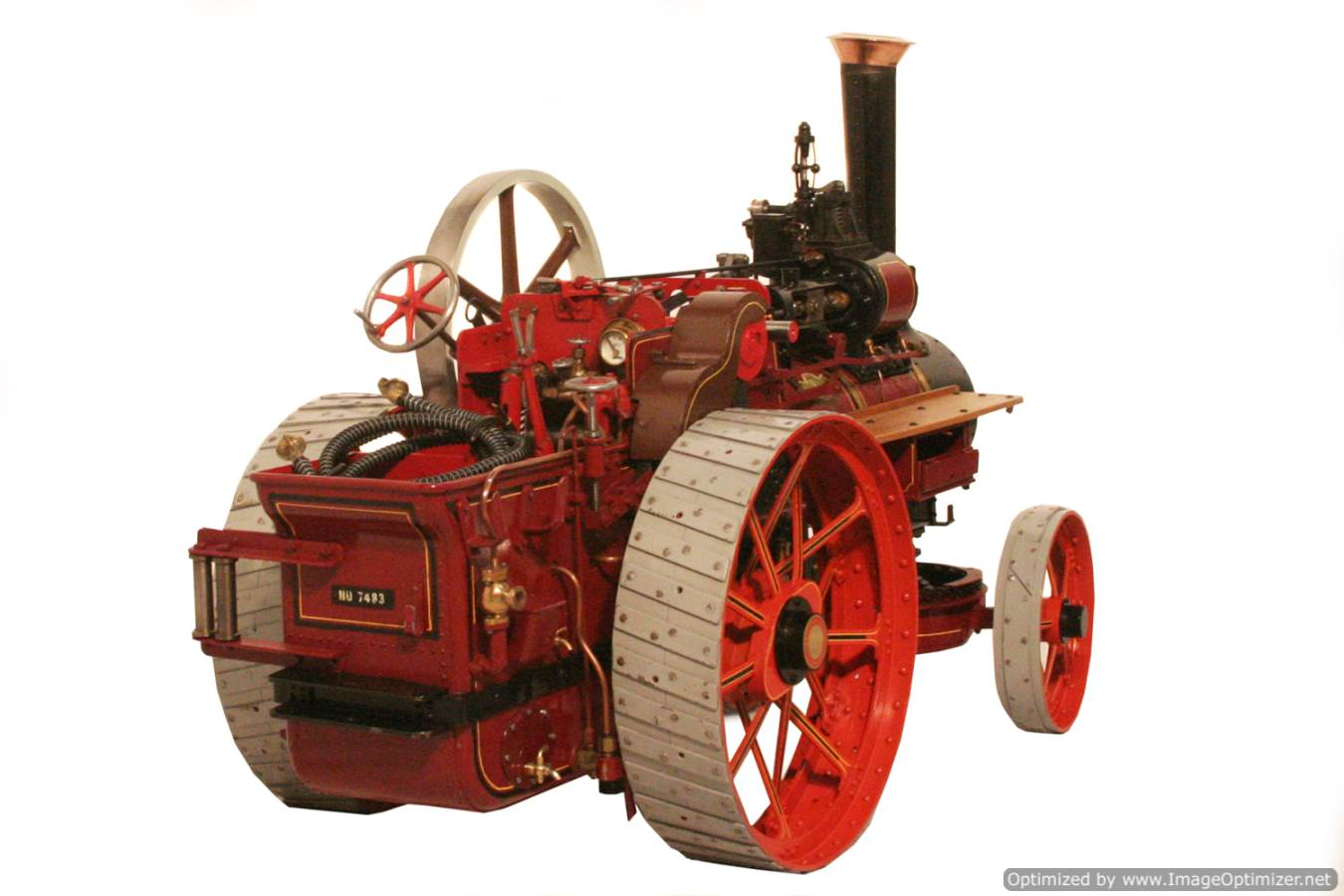 test Royal Chester Alchin Traction Engine for sale 06 Optimized