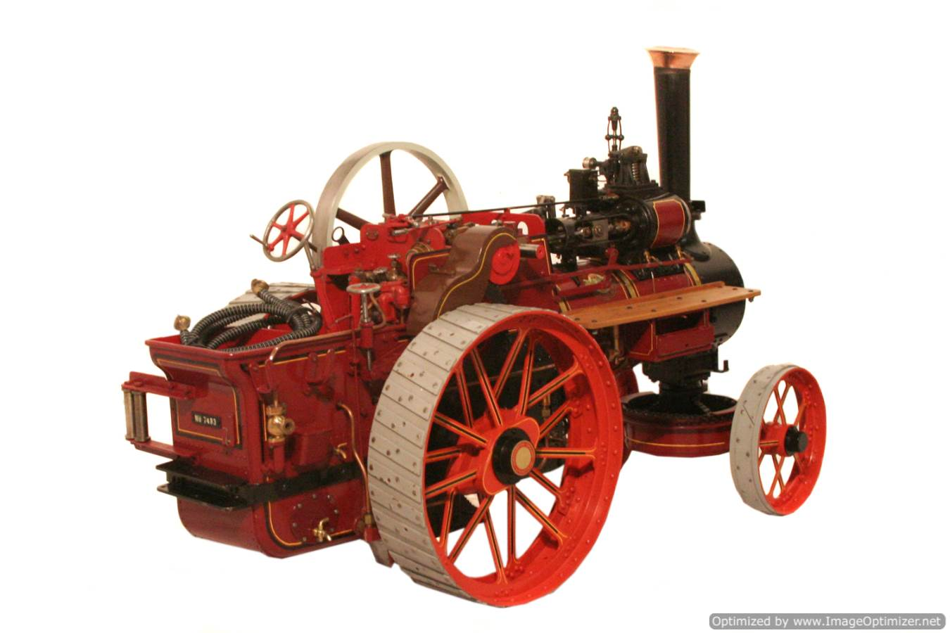 test Royal Chester Alchin Traction Engine for sale 07 Optimized