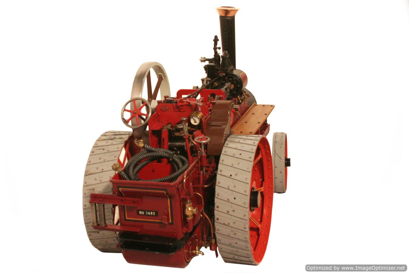 test Royal Chester Alchin Traction Engine for sale 08 Optimized
