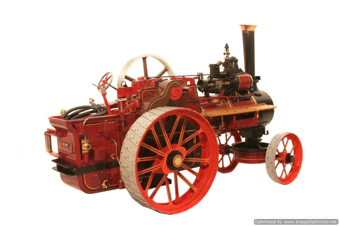 test Royal Chester Alchin Traction Engine for sale 09 Optimized