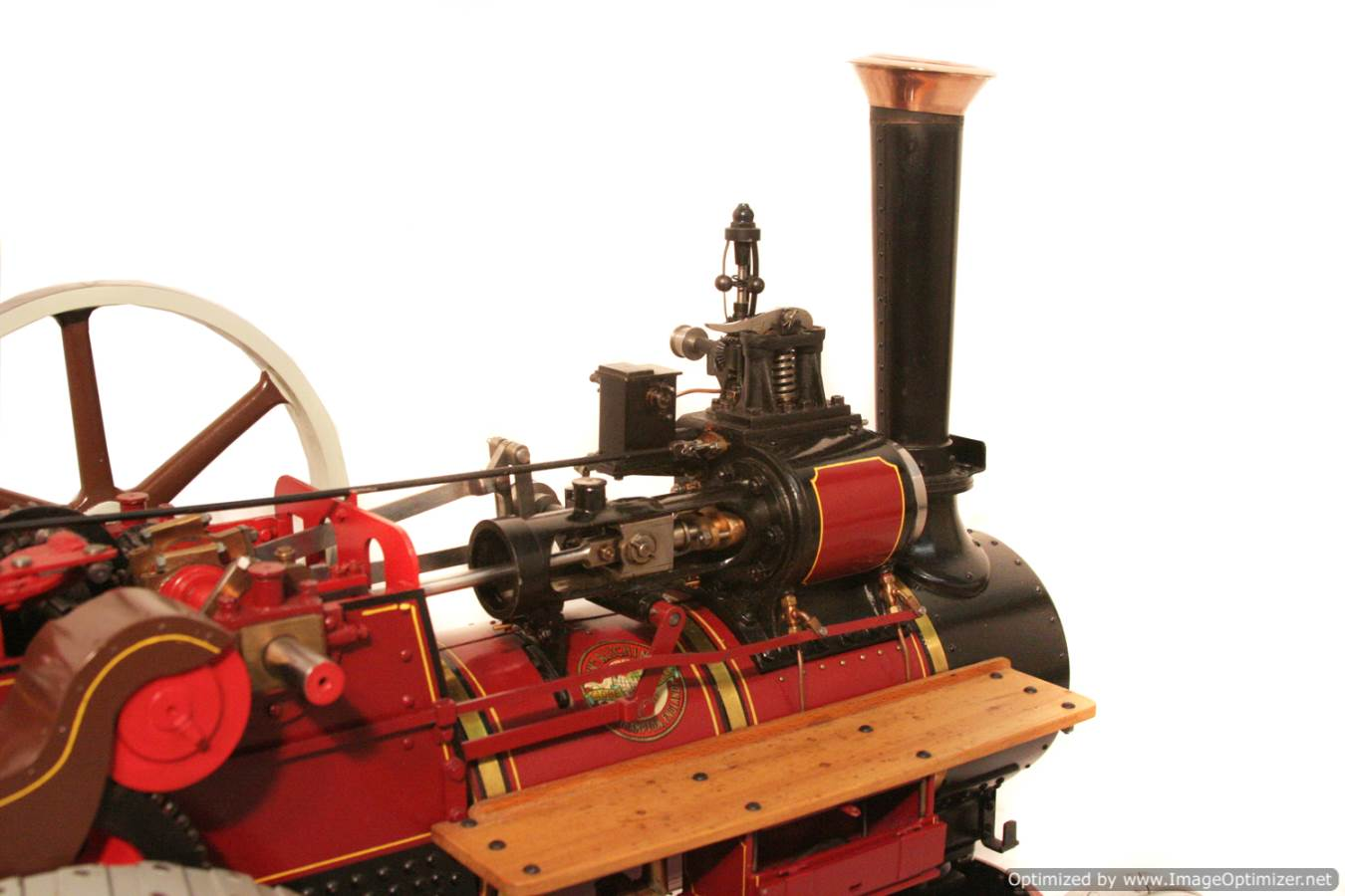 test Royal Chester Alchin Traction Engine for sale 12 Optimized