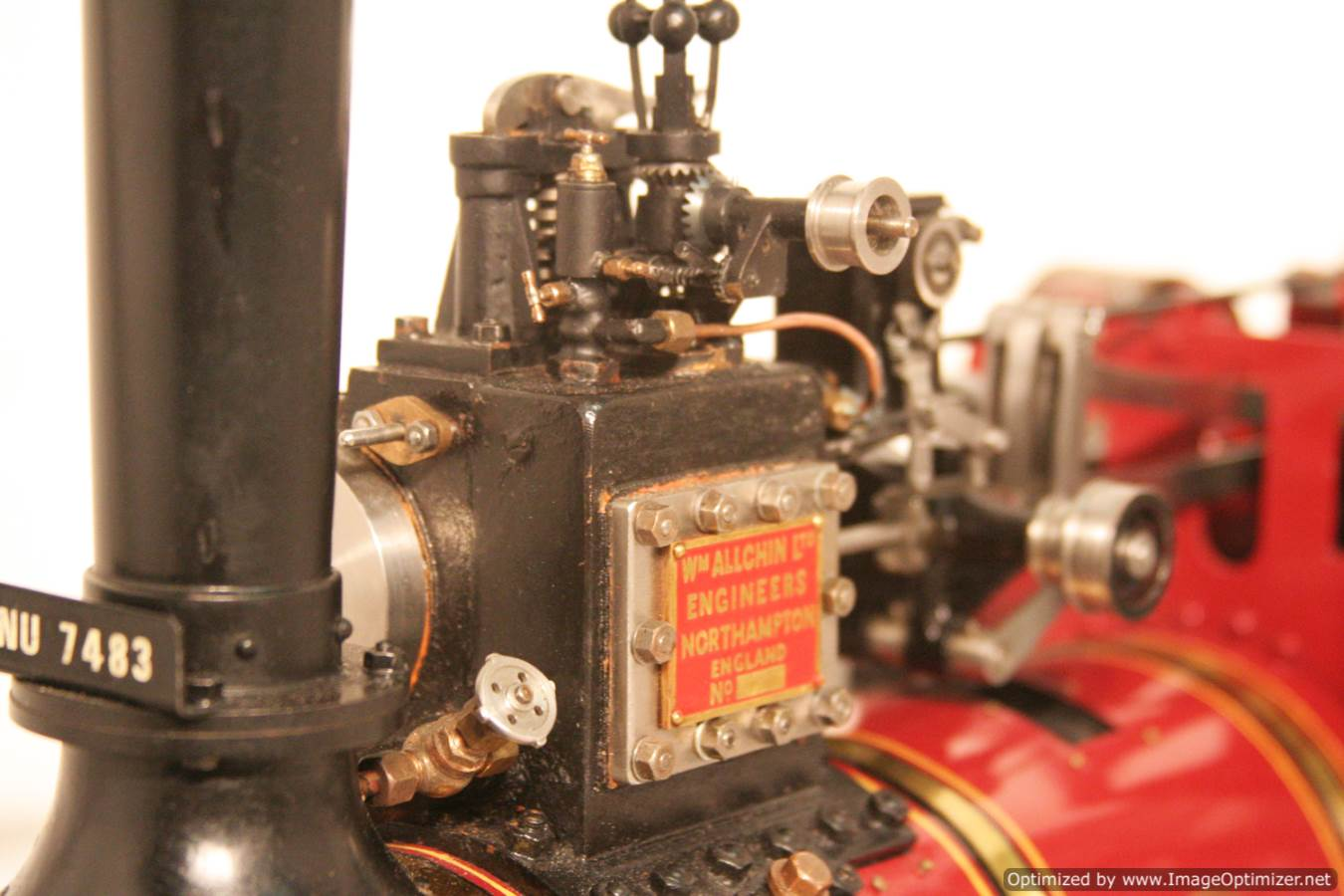 test Royal Chester Alchin Traction Engine for sale 21 Optimized