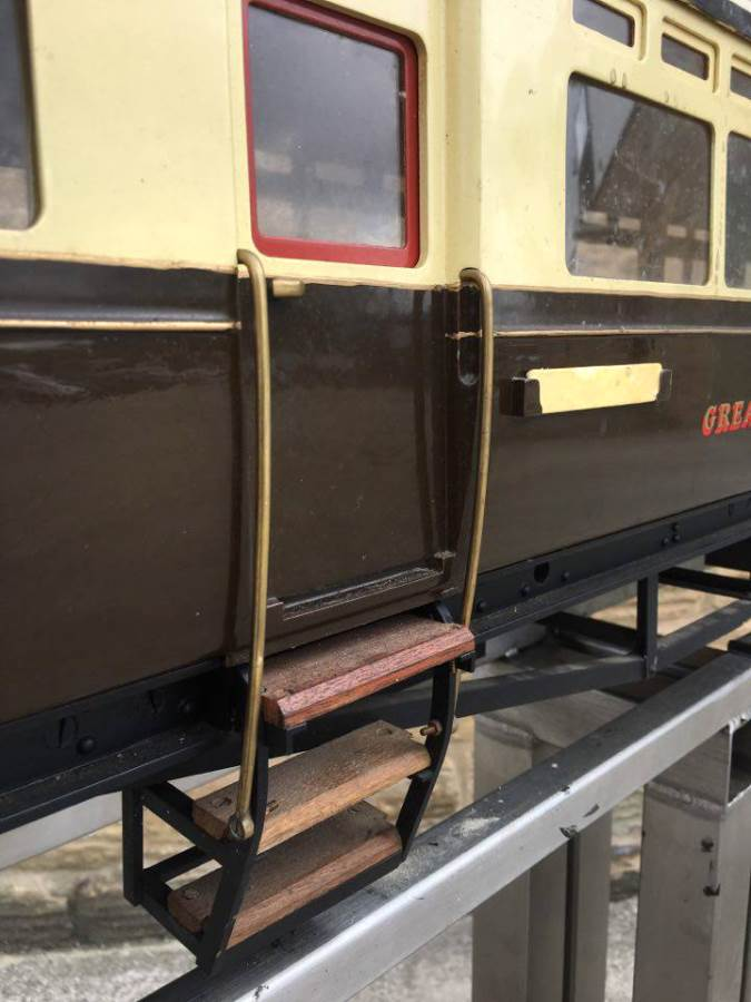 test 5 inch Gauge Live Steam GWR Autocoach for sale 01 Optimized